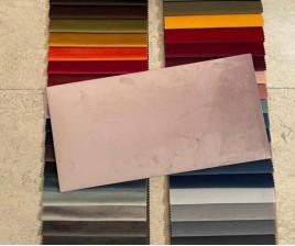 Kleursamples Stoffen Panelen